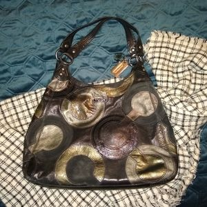 Coach Leather Maggie Hobo